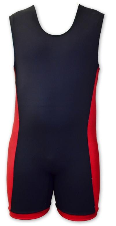 TITAN Triumph lyftartrikå, Svart-Röd / Stor logo
