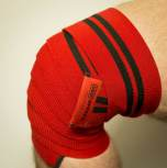 SBD Knee Wraps IPF, medium-hård