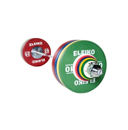 Eleiko IWF Weightlifting Training Set - 190 kg,men, RC