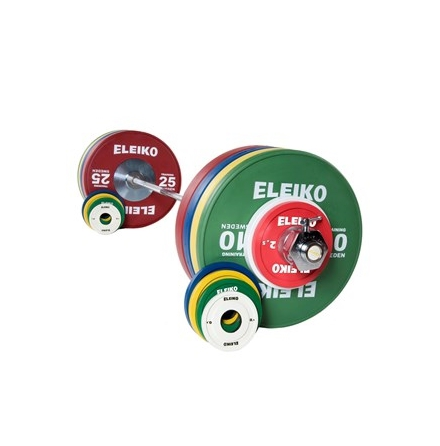Eleiko IWF Weightlifting Training Set - 185 kg,women, RC