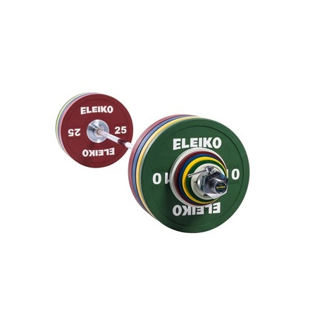 Eleiko Sport Training Set - 190 kg, men, coloured