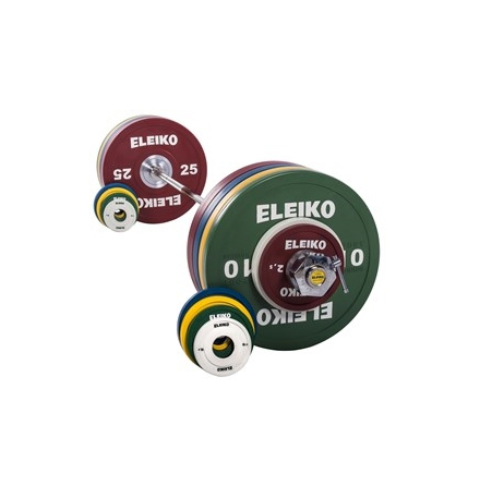 Eleiko Sport Training Set - 185 kg, women,coloured