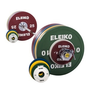 Eleiko Sport Training Set - 185 kg, women,coloured