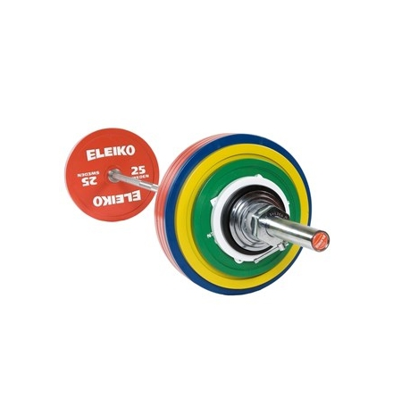 Eleiko IPF Powerlifting Competition Set - 285 kg