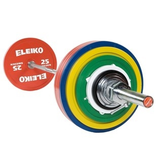 Eleiko IPF Powerlifting Competition Set - 285 kg