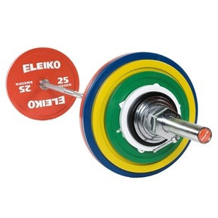 Eleiko IPF Powerlifting Competition Set - 185 kg
