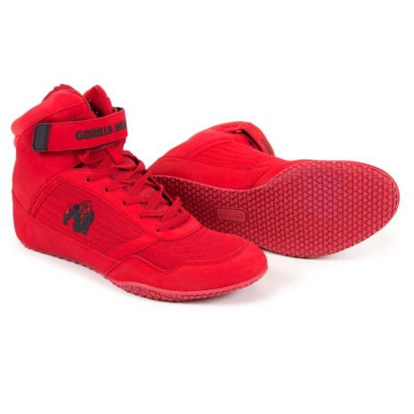 Gorilla Wear High Tops, Red