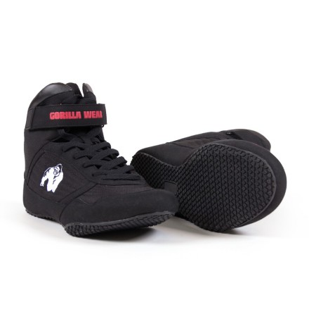 Gorilla Wear High Tops, Black