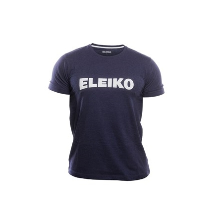 ELEIKO Mens Cotton T-shirt , Navy blue