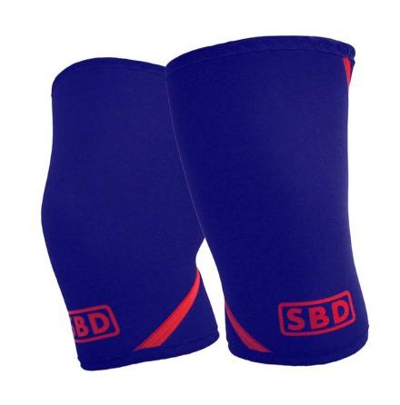 SBD Knee Sleeves  Navy/ Red
