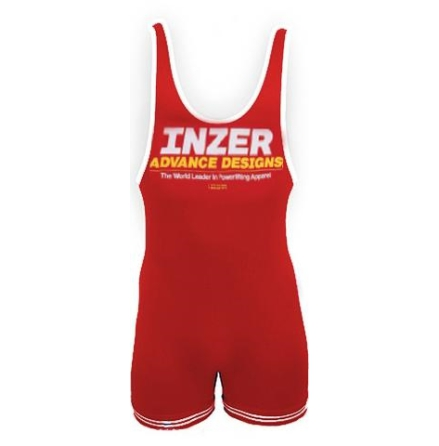 Inzer Lifting Singlet- Red