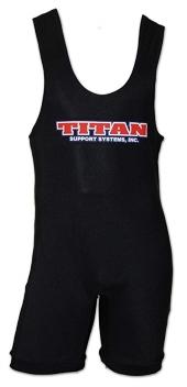TITAN Classic lyftartrikå Svart , Plain Logo