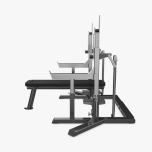 Eleiko IPF Powerlifting Squat/Bench Combo, Charcoal