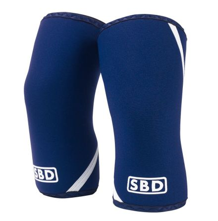 SBD Knee Sleeves IPF, Blue/White