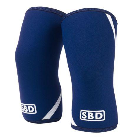 SBD Knee Sleeves IPF, Blue/White