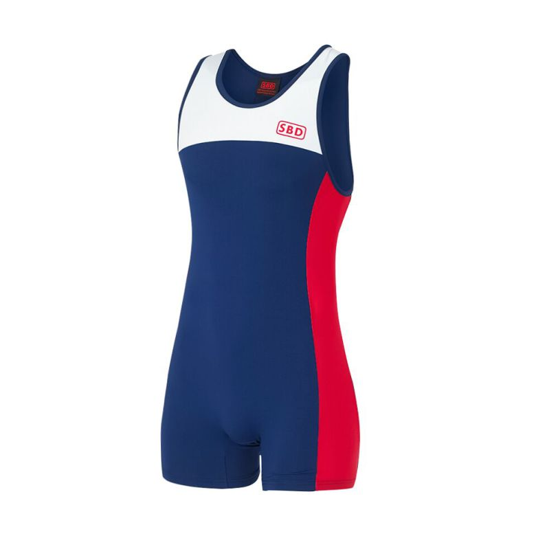 SBD Singlet IPF Blue/White/Red