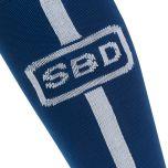 SBD Deadlift Socks, Blue/White