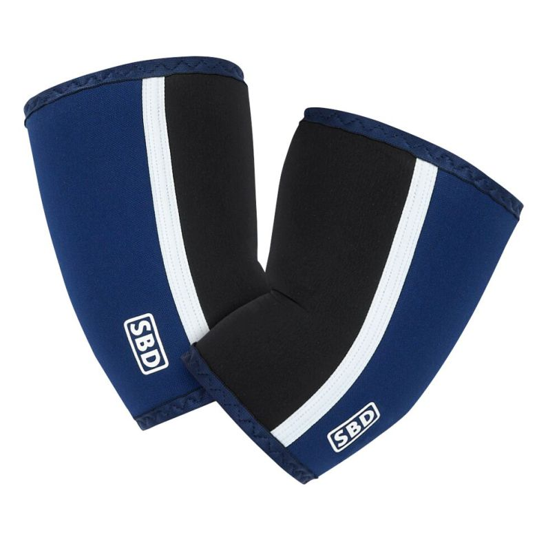 SBD Elbow Sleeves Blue/Black/White