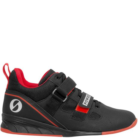 SABO PowerLift shoe black-red
