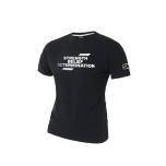 SBD Slogan T-Shirt - Ladies, Black/White,