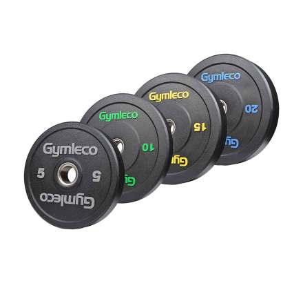 824H Gymleco Training Bumpers, Viktpaket 100 kg