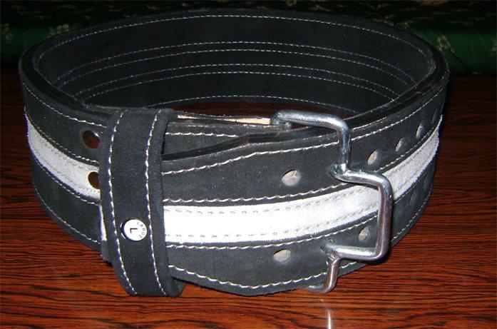 ZEBRA powerlifting belt